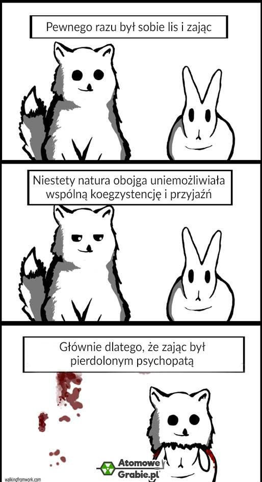 Lis i królik